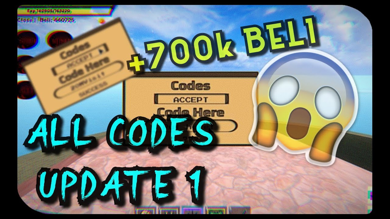 ALL CODES WORKING UPDATE1 King Piece YouTube