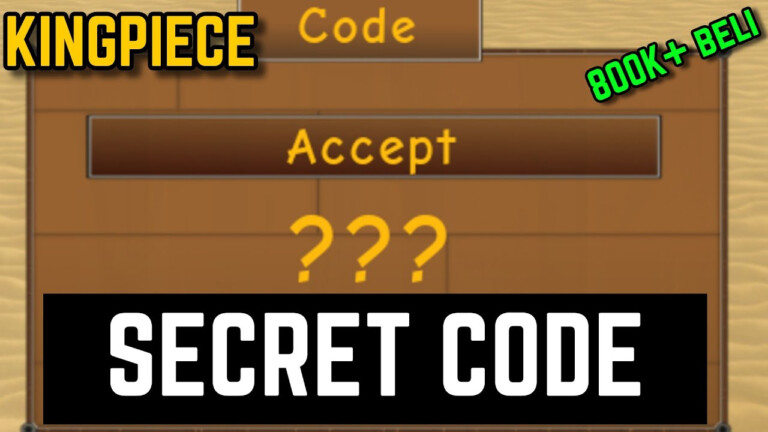 ALL SECRET CODES KING PIECE YouTube