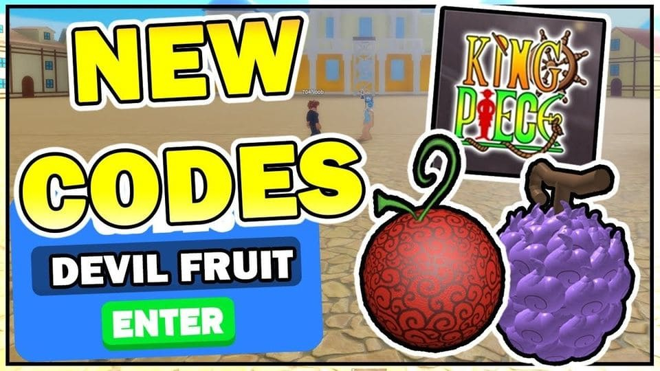 Code King Piece M i Nh t 2021 Nh p Codes Game Roblox
