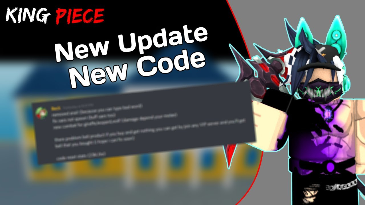 New Update In New Code On King Piece YouTube