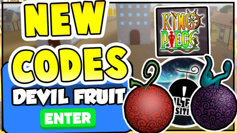 OP NEW KING PIECE CODES DEVIL FRUIT All King Piece