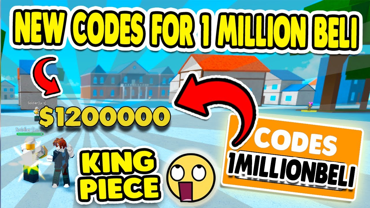 ALL NEW ROBLOX KING PIECE CODES FOR BELI OCTOBER 2020