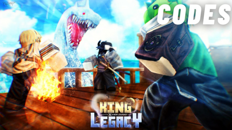CODES King Legacy Update YouTube