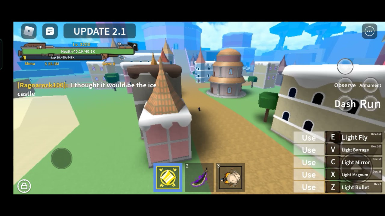 Roblox King Legacy Update 2 P 2 YouTube
